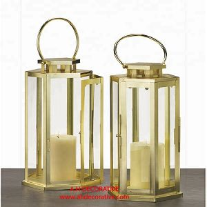 Brass Gold Lantern