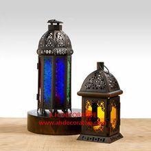 Glass Iron Lantern