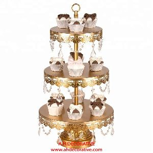 Metal Cup Cake Stand