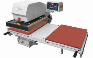 Automatic T-shirt printing machine (double bed)
