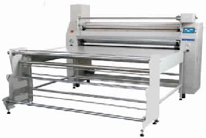 Rotary continuous sublimation press