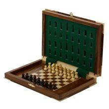 Unique Chess Wood Magnetic