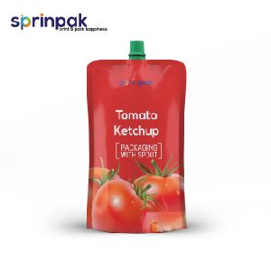 Stand Up Pouch with Spout Nozzle