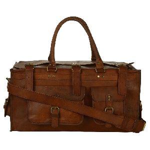Zibag Goat Leather 22 Duffle Unisex Bag