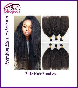 Bulk Hair Bundles - Hairshopee Remy Indian Human Hairs