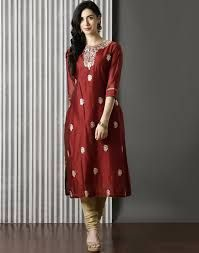 Silk Traditional Kurti