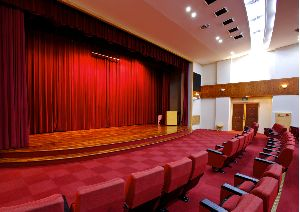 Auditorium Automated Horizontal Stage Curtains