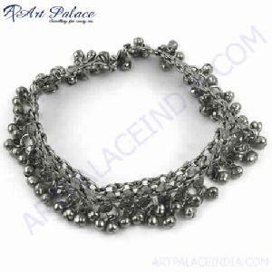 Heavy Bridel Wear German Silver Ankelets