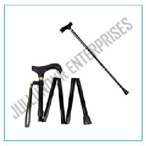 Folding Aluminium Walking Sticks