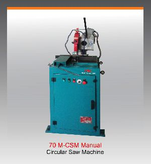 Manual Circular Saw Machine