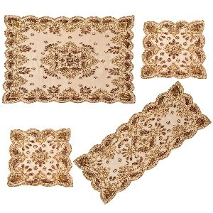 Hand Embroidered Table Covers