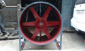 Aluminium Plate Cooling Fan