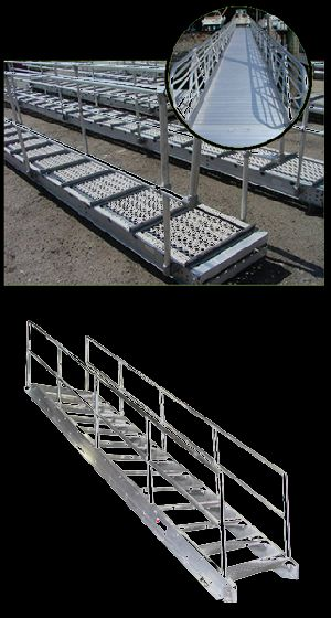 Aluminum Gangways And Stairs