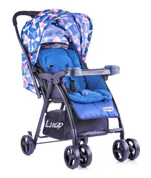 Printed Joy Baby Stroller