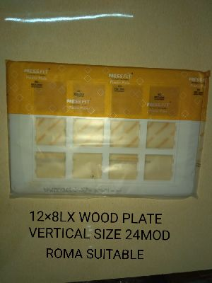 Modular Switch Wooden Plates