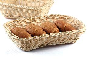 Rectangle Rattan Basket