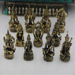 Brass Religious Small Statue
