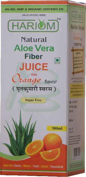 Aloe Vera Fiber Juice