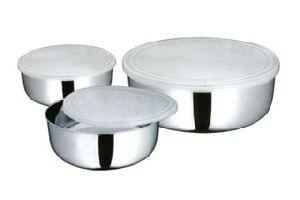 Plastic Lid Mixing Bowl
