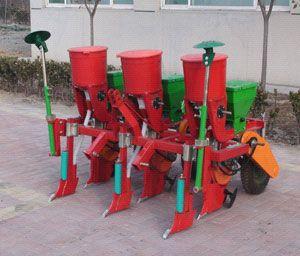 Precision Corn Planter With Fertilizer