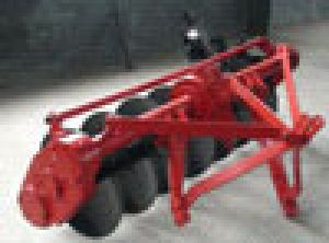 Rotarydriven Disc Plough