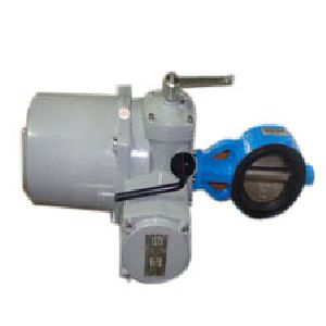 Electric Actuator Operation Butterfly Valve