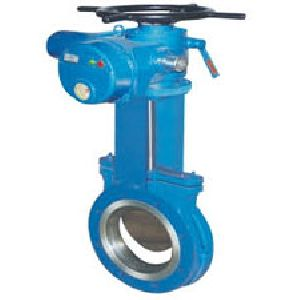 Knife Gate Valve Electric Operated
