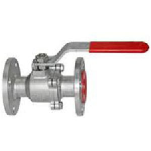 Two Piece Ball Valve Flanged