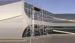 Double Width Aluminum Scaffolding Tower