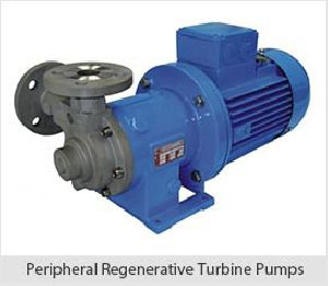 Peripheral Regenerative Turbine Pumps
