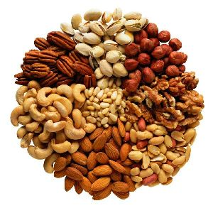 Edible Nuts, Dry Fruits And Seeds
