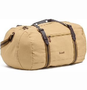 Canvas Traveling Ruvida Duffel Bag
