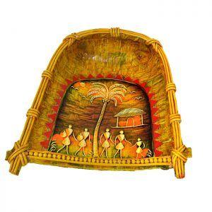 Decorative Winnowing Basket