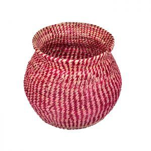 Grass Round Basket