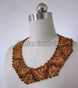 Knitted Necklace