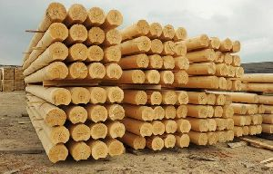 Teak Wood - Round Logs, Swan Timber Logs