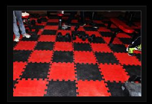 Interlock Rubber Tiles