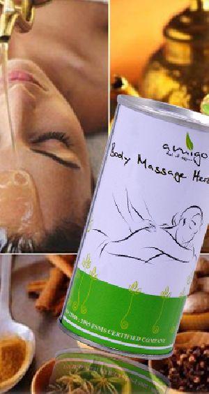 Body Massage Herb Oil