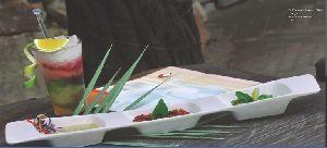Bone China Pickle Tray Set