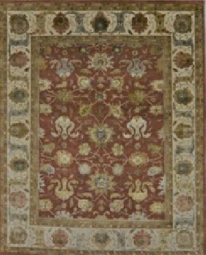 Wool Silk Hand Knotted Rugs