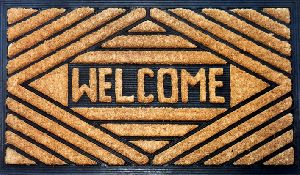 Rubber Backed Coir Door Mats