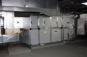 Air Handling Unit Erection & Commissioning Services