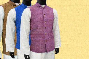 Mens Khadi Woolen Nehru Jacket