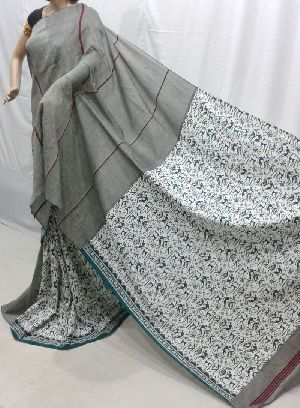 Warli Cotton Khesh  Sarees