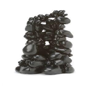 Black Pebble Sculpture Large