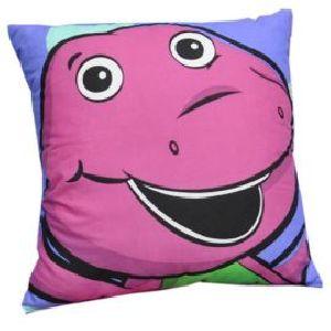 Barney Cushion Filled