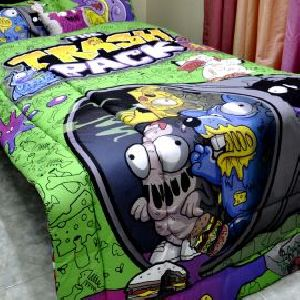Trash Pack Comforter Set