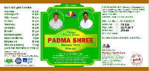 Padmashree Nervous Tonic Powder