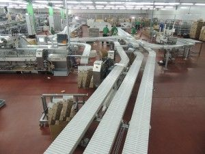 Slat Chain Conveying Systems