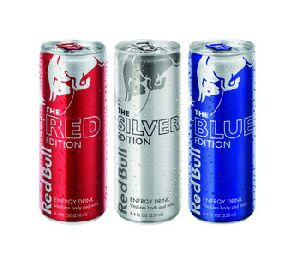 Red Bull Original / Blue / Silver / Red Edition